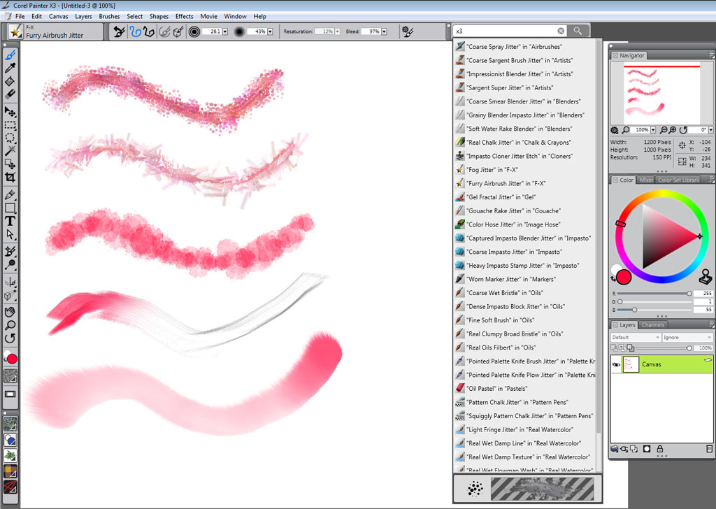 Genuine Corel Painter 13 X3 Draw Paint Art Software For Pc Mac Educational Ebay