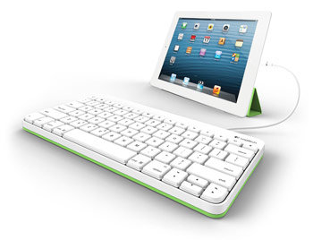 Logitech Wired Keyboard for iPad (4th Generation), iPad mini
