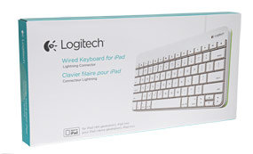 Logitech Wired Keyboard for iPad (4th Generation), iPad mini