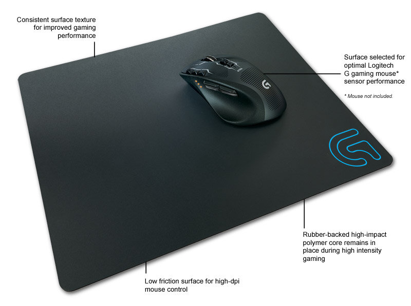 Amazon Com Logitech G440 Hard Gaming Mouse Pad For High
