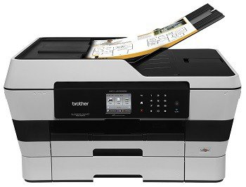 Load up to 35 sheets into the automatic document feeder