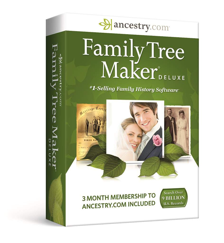 Details about New Family Tree Maker Deluxe 2014 Ancestry.com
