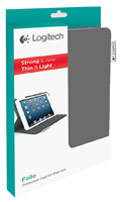 Logitech Folio Protective Case for iPad mini (Dark Clay Grey)