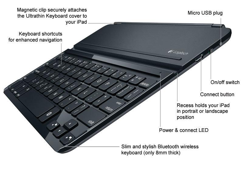logitech ipad air 2 keyboard instructions