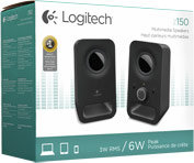 Logitech Multimedia Speakers Z150 (Black)