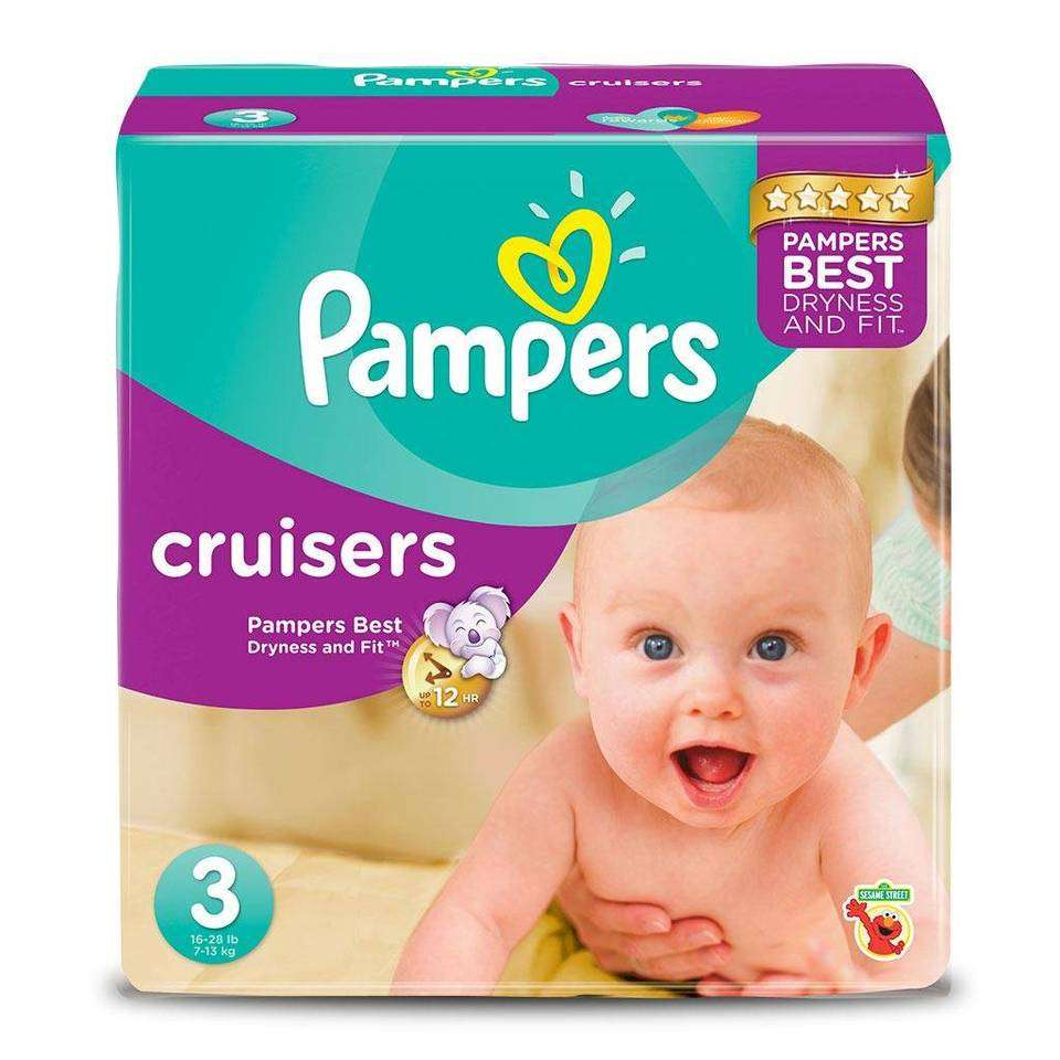 Pampers Cruisers Disposable Baby Diapers Size 6, Count, ONE MONTH SUPPLY by PampersReviews: