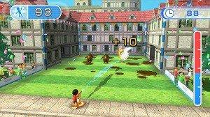 Wii Fit U Hose Game