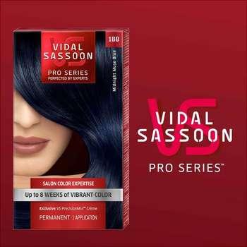 6pk vidal sassoon pro series hair color london luxe 1bb