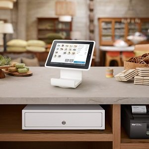 Square Stand in Store