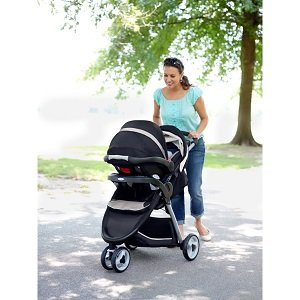This Foldable Stroller Is Designed To Work With Any Of Gracos Click Connect Infant Car Seats So You Can Take Your Pick Top Rated