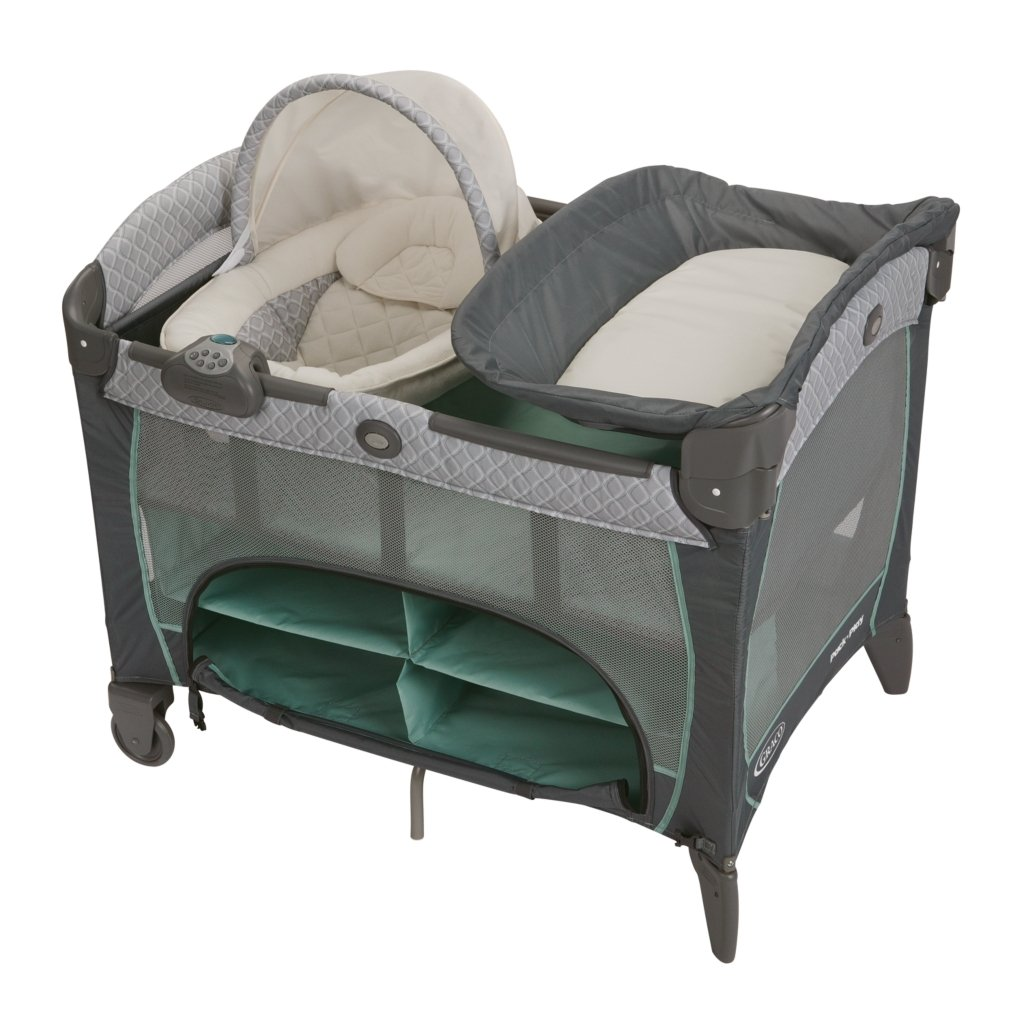 Amazon Com Graco Pack N Play Playard With Newborn Napperstation Dlx Manor Baby