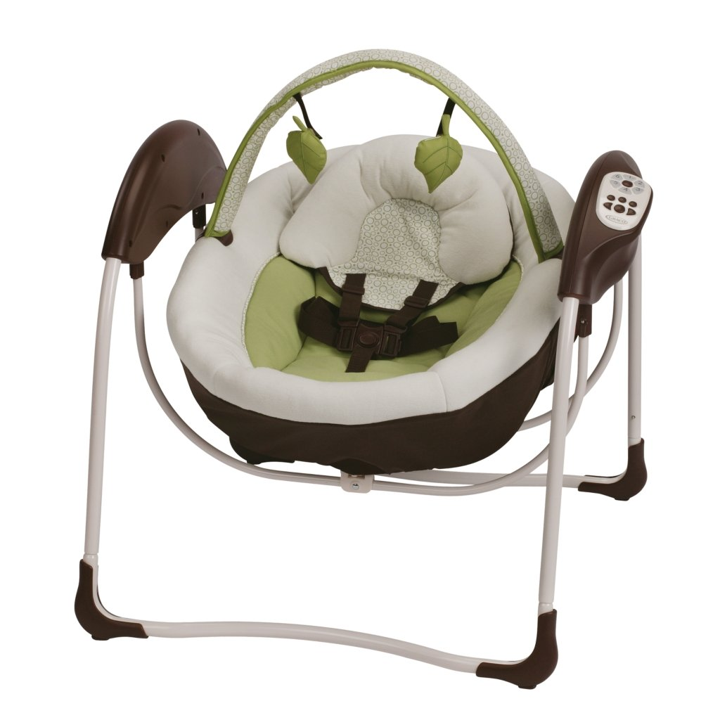 Amazon Com Graco Glider Petite Lx Gliding Swing Go
