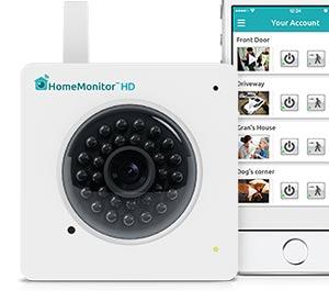 HomeMonitor HD iPhone