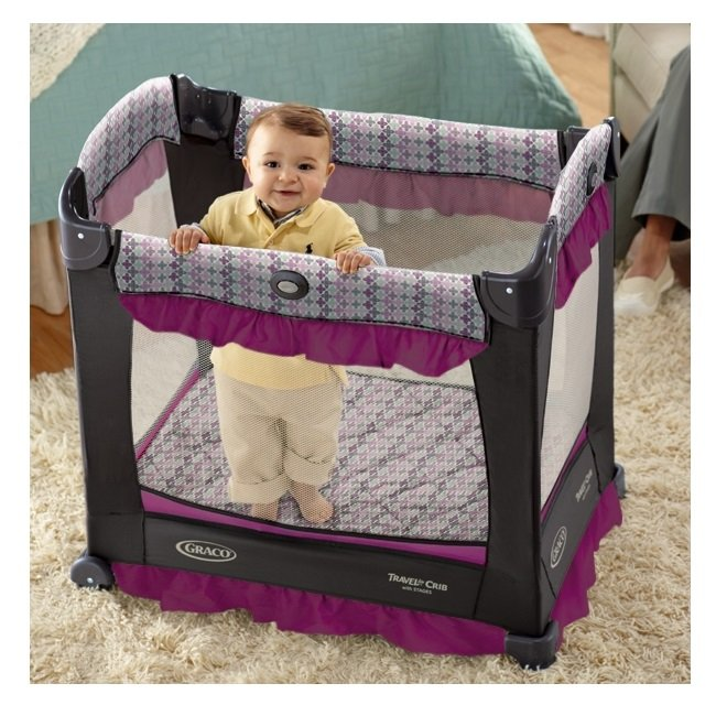 Amazon.com : Graco Travel Lite Crib, Nyssa : Baby