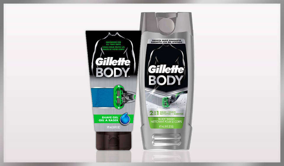 how to use gillette body razor