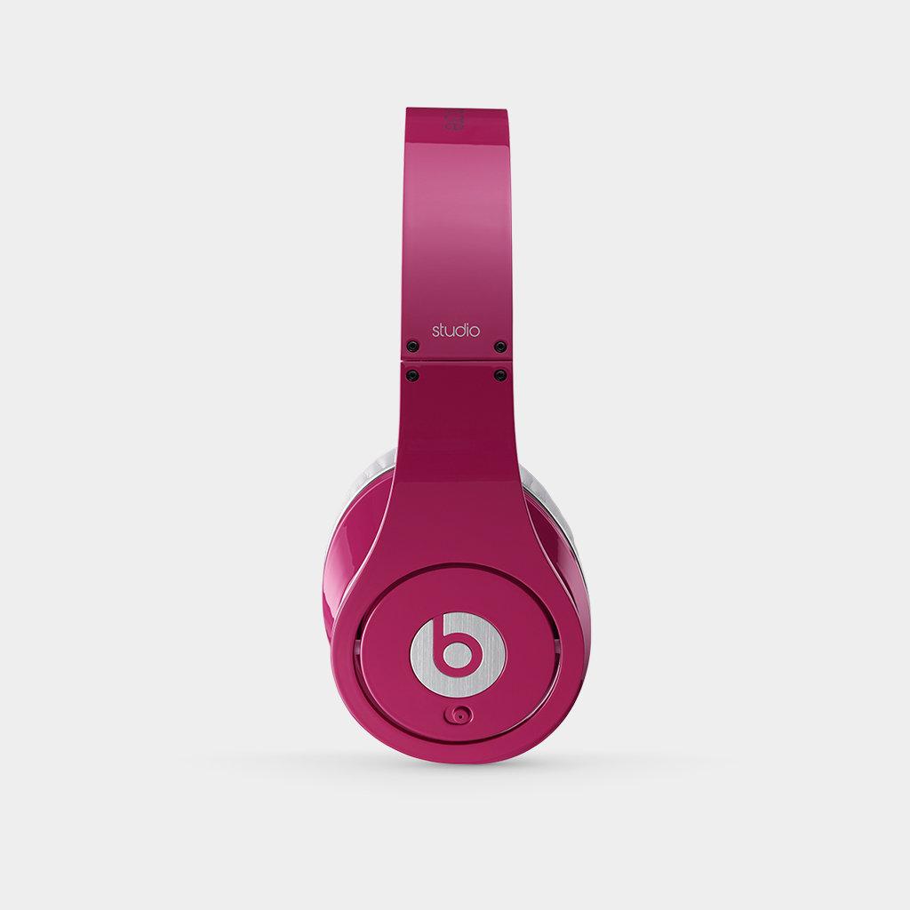 beats studio 2 0 over ear headphone pink. Black Bedroom Furniture Sets. Home Design Ideas