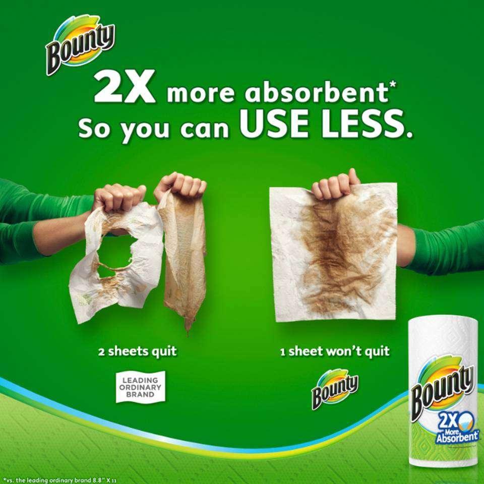 Amazon Com Bounty Select A Size Paper Towels Huge Rolls