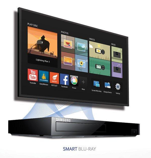 Blu Ray Player Shelf Smart Blu-ray Player