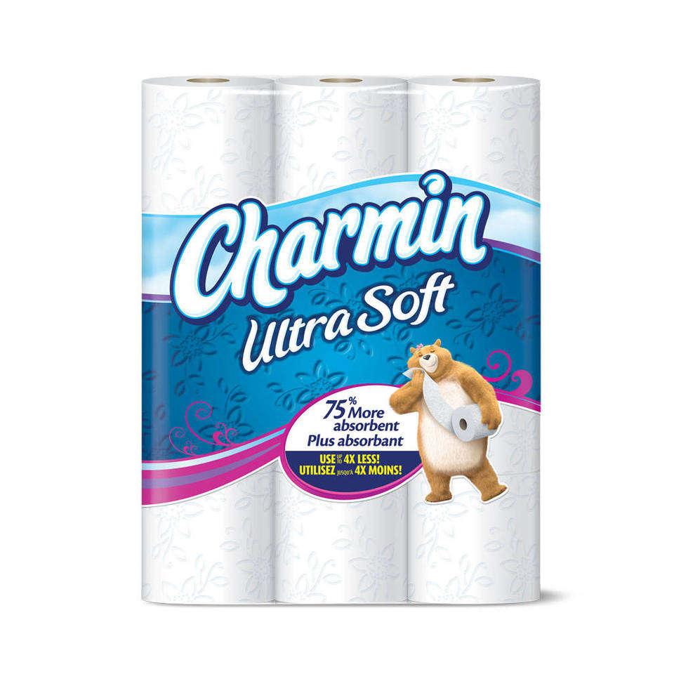 Amazon Com Charmin Basic Toilet Paper 36 Huge Rolls