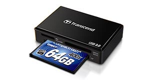 Transcend 400x CompactFlash reader