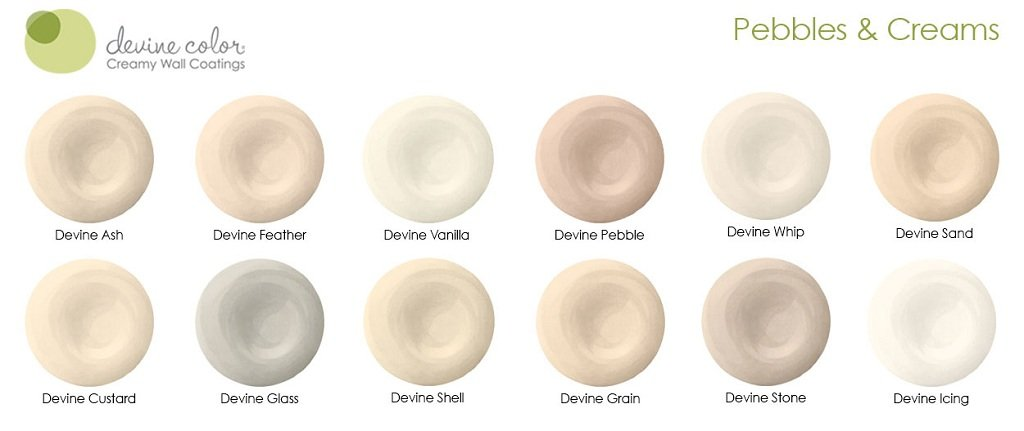 Devine whip pebbles cream collection devine color - Shades of cream color paint ...