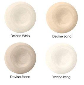 Devine Glass, Pebbles & Cream Collection, Devine Color Interior Paint