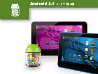 Experience the fast and smooth Android 4.1 Jelly Bean!