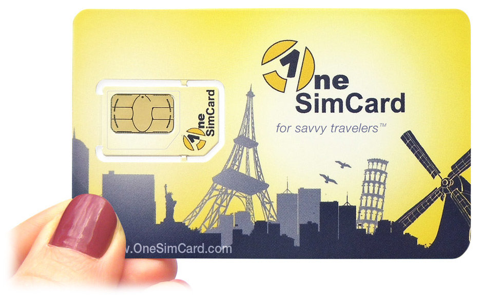 Amazon.com: OneSimCard Plus - Pre-paid International SIM Card for ...