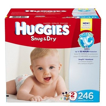 Huggies Snug N Dry Size 2 Diapers
