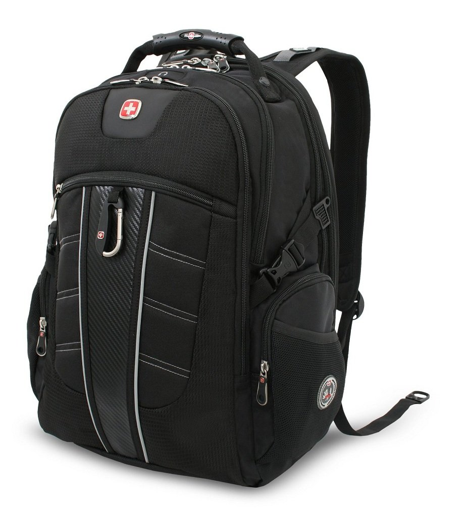 swissgear tsa backpack for 17 inch laptop with accessory pockets sa1753 computers. Black Bedroom Furniture Sets. Home Design Ideas