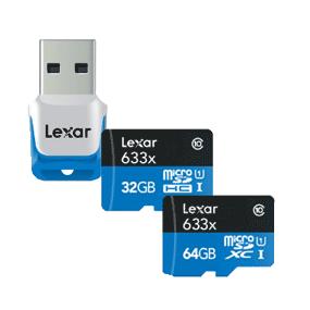 Lexar microSDXC/microSDHC 633x img1