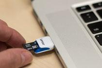 Lexar microSDHC Card Image 1