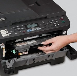 Easy to install, high-yield toner cartridge<br>is available for low cost output