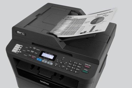 Amazoncom brother printer mfc7860dw wireless monochrome for Brother hl l2380dw document feeder