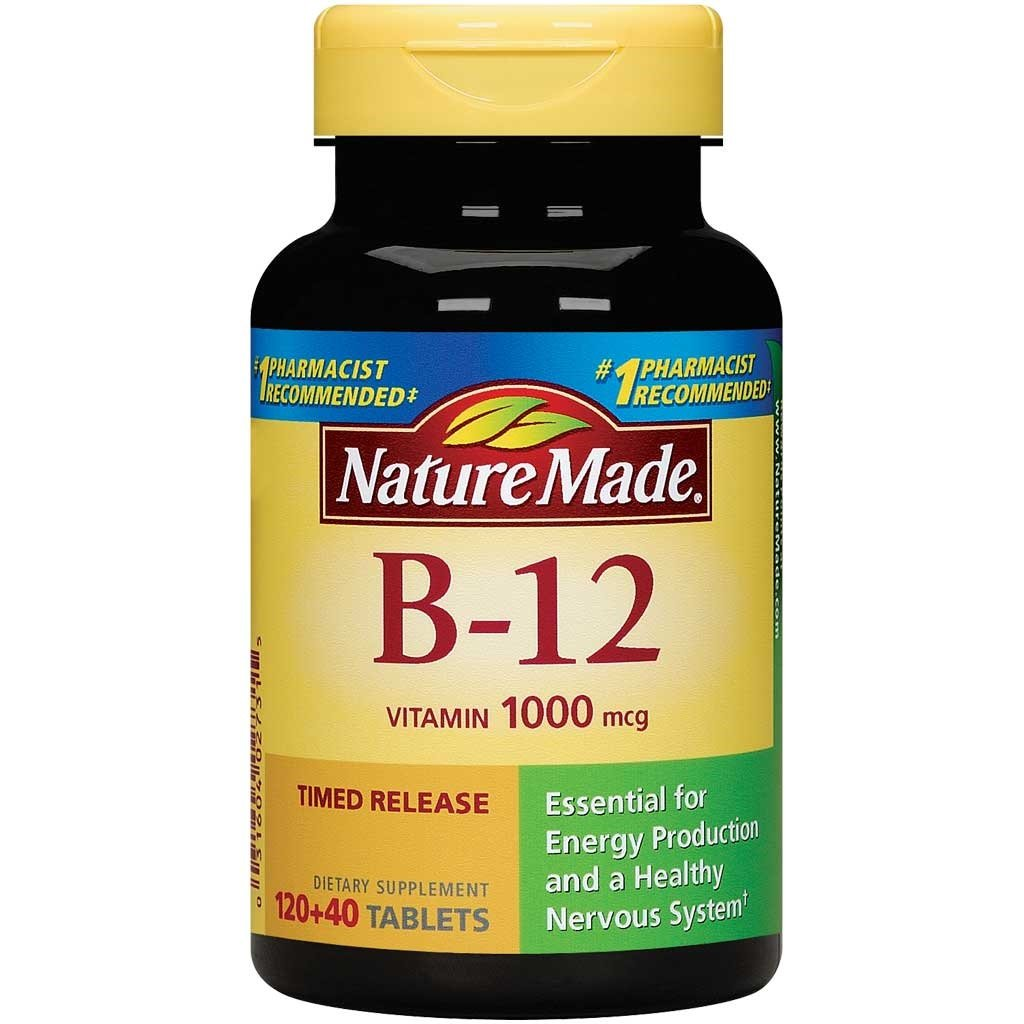 nature made vitamin b 12 timed release tablets value size 1000 mcg 160 count. Black Bedroom Furniture Sets. Home Design Ideas