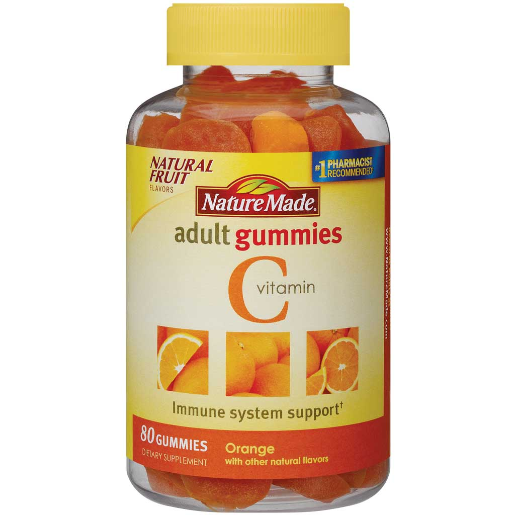 New. Dietary Supplement. Heart Healthy Omega-3 EPA & DHA*. Natural Fruit Flavors. Colors from Natural Sources. No Yeast or Gluten Made with natural fruit flavors that adults prefer, Nature Made Adult Gummies are a great tasting way to take your vitamins/5(26).