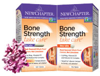 New Chapter Bone Strength Take Care Slim Tabs and Tiny Tabs
