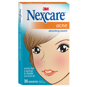 Nexcare Acne Absorbing Covers Two Sizes 36 Count Amazon