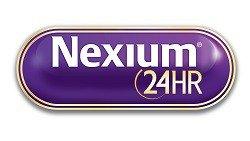 Nexium 24HR logo