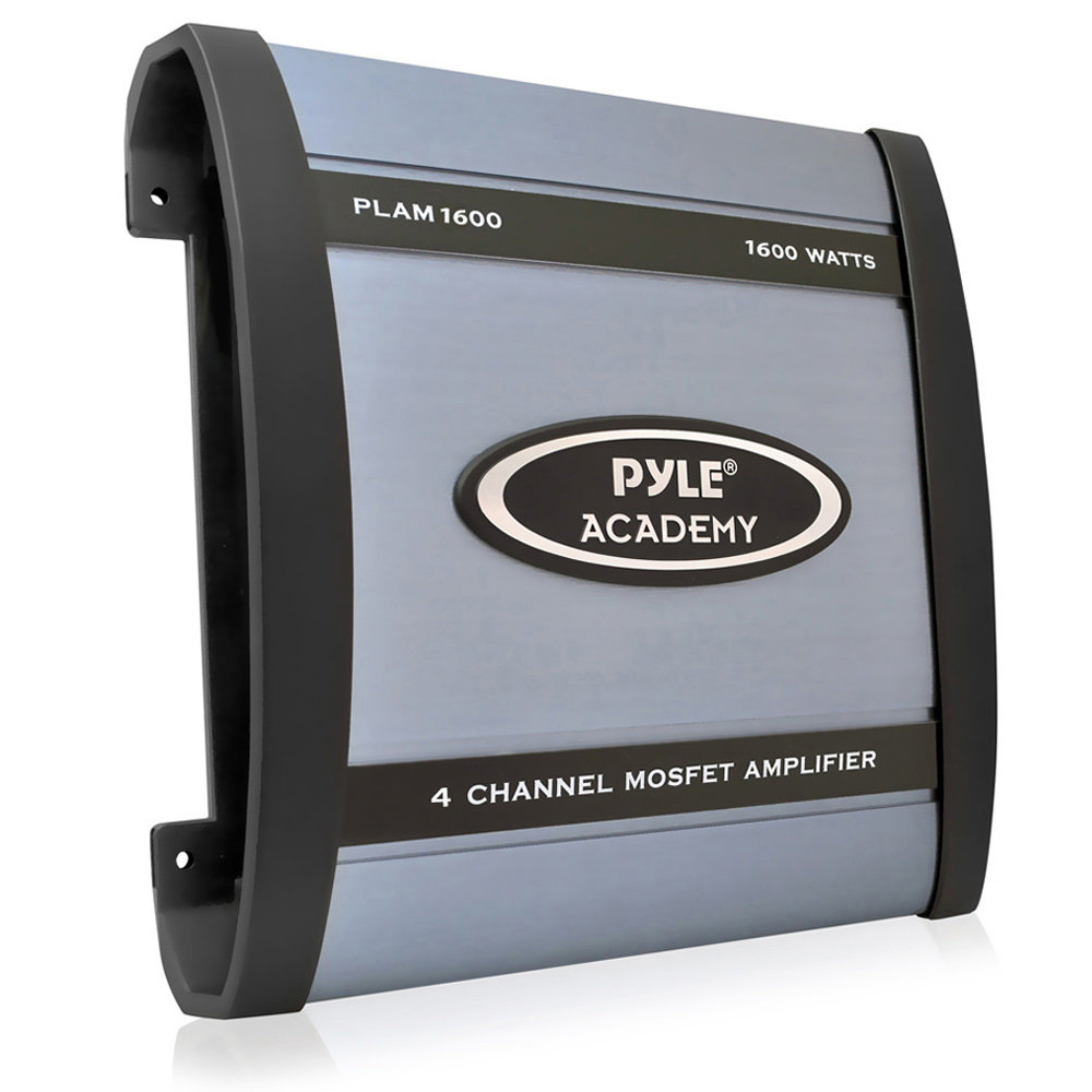 PLAM1600 new pyle plam1600 1600 watts 4 channel bridgeable amplifier car  at edmiracle.co