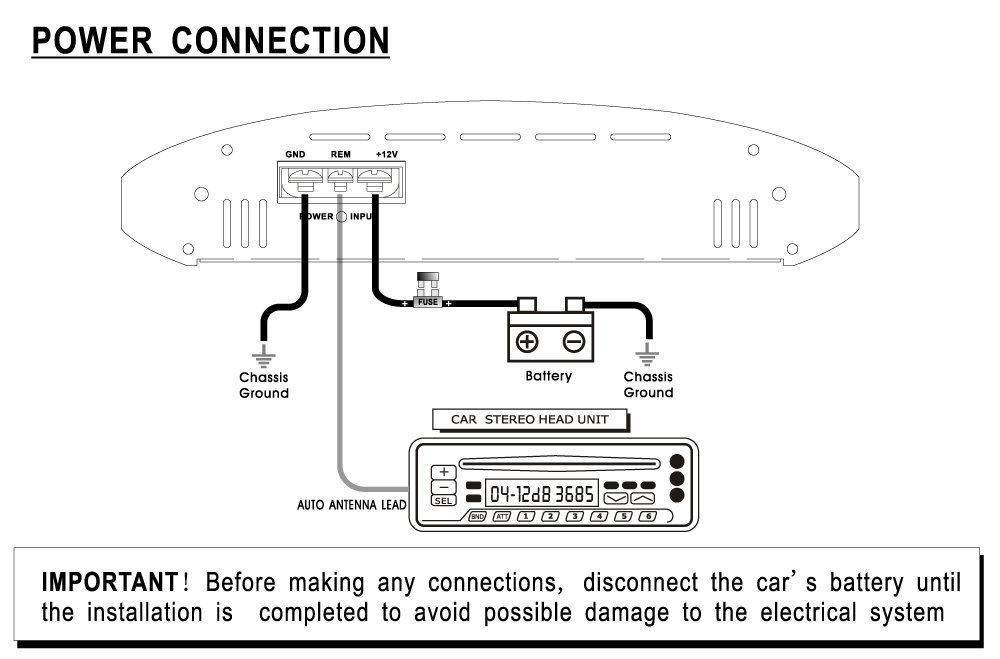 Boss Amplifier Wiring Diagram : Dual watt amp wiring diagram get free image about