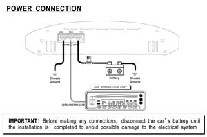 Pyle - PLAM3000 - Marine and Waterproof - Vehicle Amplifiers - On the Road  - Vehicle Amplifiers | Pyle 3000 Wiring Diagram |  | www.pyleaudio.com