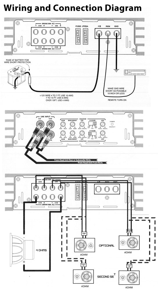 pyle plba430frd marine and waterproof vehicle Pyle Radio Wiring Diagram Scosche Wiring Harness Diagrams Chrysler