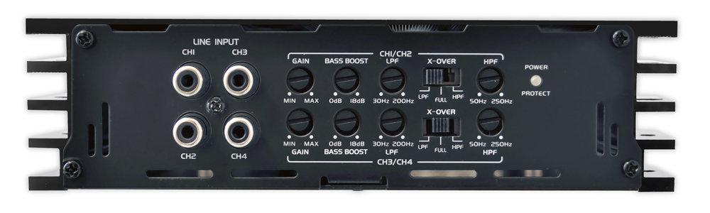 Pyle - Plba430frd - Marine And Waterproof - Vehicle Amplifiers - On The Road