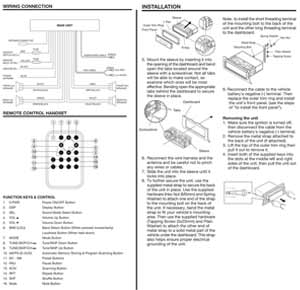 Installation and Wiring Diagram