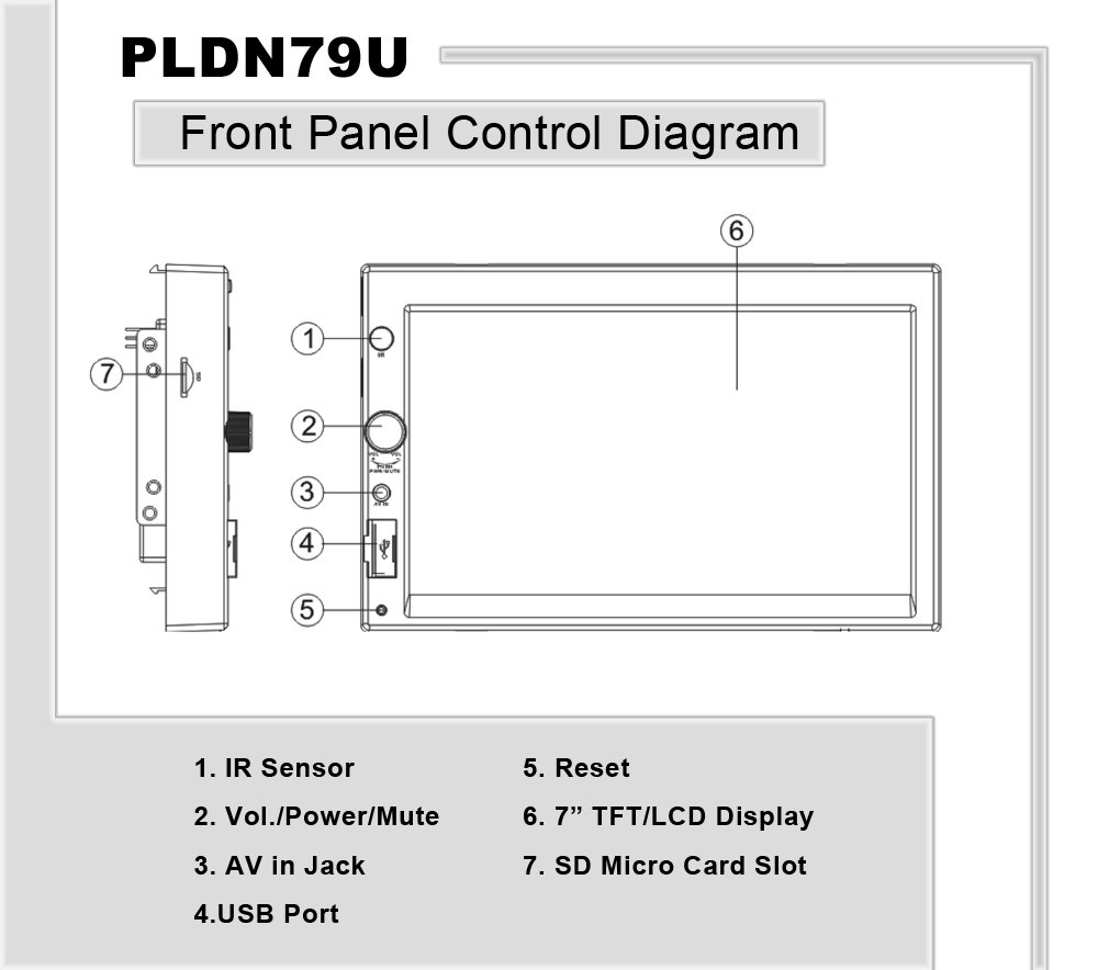 Pyle - Pldn79u - On The Road - Headunits