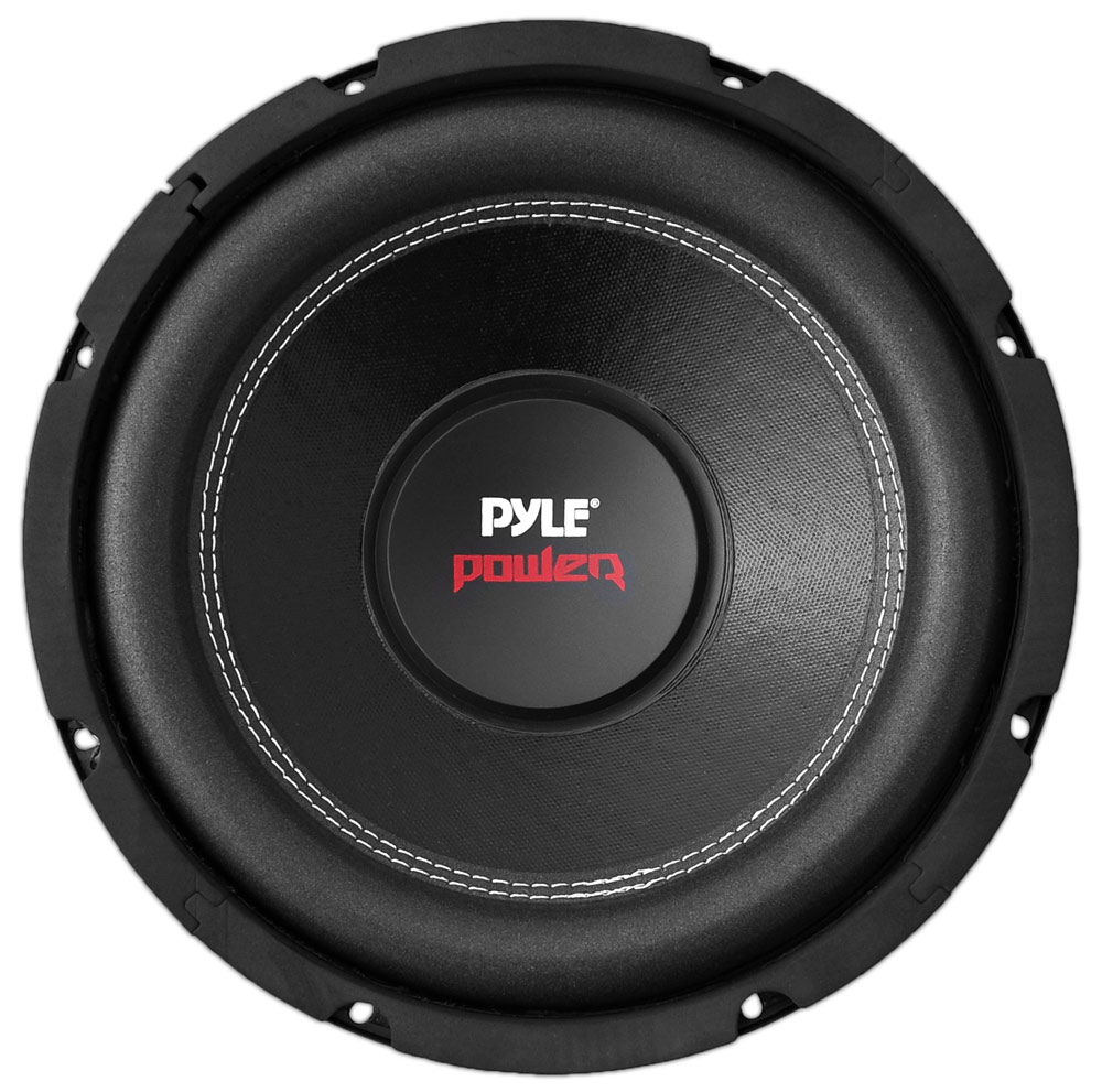 pyle plpw10d marine and waterproof vehicle subwoofers on 10 inch dual voice coil subwoofer