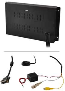 RCA & VGA Video Inputs