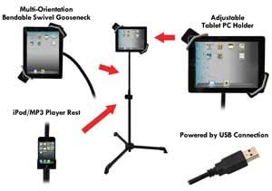 Versatile Tablet Stand!
