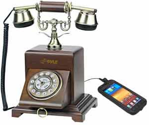 Vintage Style Telephone with Smartphone Compatibility